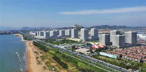 """作为青岛""""影视之城""""的重要载体,灵山湾影视文化产业区将依托青岛"""